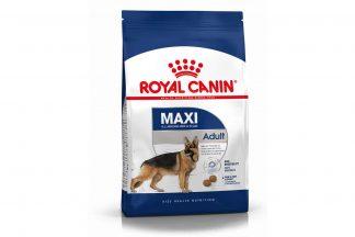 Royal Canin Maxi Adult is een volledige voeding voor de grote, volwassen rassen met een gewicht van 25 kg tot 45 kg.