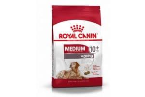 Royal Canin Medium Ageing 10+ helpt oudere honden vanaf 10 jaar met een gewicht van 10 kg tot 25 kg vitaal te blijven.