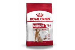 Royal Canin Medium Adult 7+ helpt de oudere hond vanaf 7 jaar met een gewicht van 10 kg tot 25 kg vitaal te blijven.