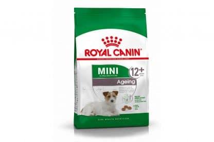 Royal Canin Mini Ageing 12+ is geschikt voor honden vanaf 12 jaar. Speciaal voor oudere kleine honden met een volwassen gewicht tot 10 kg.Door hun kleine formaat en elegante vorm lijken Mini-honden erg kwetsbaar.