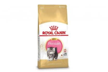Royal Canin Persian Kitten rasspecifieke voeding voor Perzische kittens van 4 tot 12 maanden.