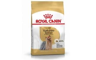 Royal Canin Adult Yorkshire Terrier is een rasspecifieke voeding voor volwassen Yorkshire Terriers vanaf 10 maanden.