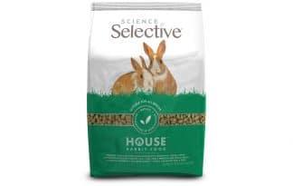 Supreme Science Selective House Rabbit is samengesteld uit een combinatie van hoogwaardige ingrediënten. Geschikt voor konijnen die binnen leven.