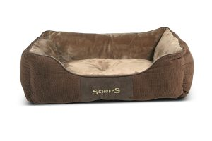 Scruffs Chester Box Bed hondenmand - bruin large