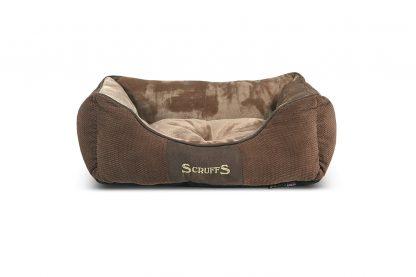 Scruffs Chester Box Bed hondenmand - bruin small