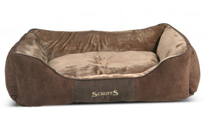 Scruffs Chester Box Bed hondenmand - bruin x-large
