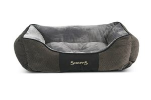 Scruffs Chester Box Bed hondenmand - grijs large