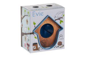 SingingFriend Hello Evie pindakaashouder - Blauw