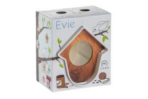 SingingFriend Hello Evie pindakaashouder - Wit