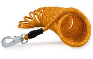 Sleeplijn drijvend oranje