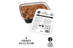 Smokey Olive Wood EZ-smoker N2 rookchips met vuurkruiden