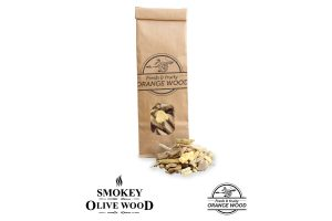 Smokey Olive Wood sinaasappelhout rookchips - 500 ml