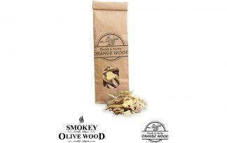 Smokey Olive Wood sinaasappelhout rookchips - 500 ml