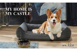De snObbs Dalton is een stijlvolle hondenmand en echt een eyecatcher voor in uw interieur. Verkrijgbaar in vier stijlvolle kleuren, zoals taupe, grijs, graphite en bruin.