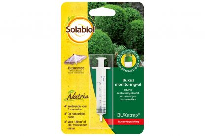 Solabiol Natria BUXatrap buxus monitoringsval navulling
