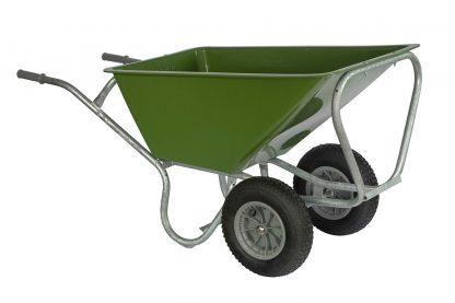 Stal kruiwagen PRO 160 liter met twee wielen