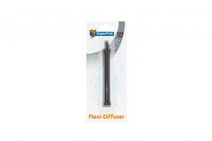 De Superfish Flexi uitstromer wordt gebruikt om een groter oppervlakte van zuurstof te voorzien, door de flexibiliteit kunnen de uitstromers op elke gewenste manier worden neergelegd.