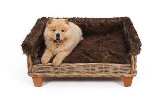 51DegreesNorth Furry Cover hoes voor 51DegreesNorth Bed hondenbank