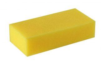 Synthetische rechthoekige spons.