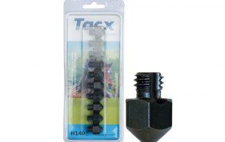 Tacx Set 10 kalkoenen W3/8 14 mm hoog met punt