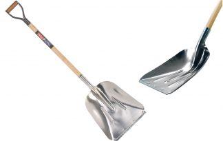 Talen Tools aluminium schop met D-steel