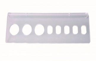 Tools-2-Groom plexi wandrekje voor 8 scharen