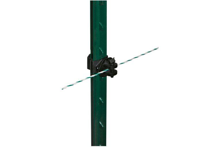 Pinlock-isolator zwart voor het T-postsysteem