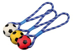Trixie Soccer Ball on a Rope