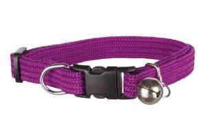 Trixie kattenhalsband is gemaakt van elastisch nylon en draagt comfortabel voor katten