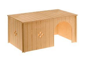 Ferplast Maxi houten konijnenhuis