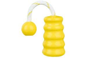 Trixie Mot-Fun halter geel