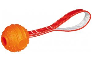 Trixie Soft & Strong ball on strap