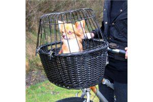 Trixie fietsmand voor aan stuur