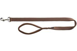 Trixie looplijn Premium mokka bruin