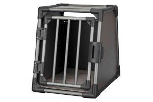 Trixie vervoersbox autobox zijkant grafiet zwart small