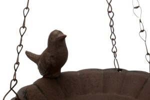 Trixie vogelbad gietijzer om op te hangen