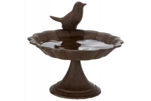 Trixie vogelbad gietijzer met standaard