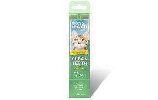 TropiClean Fresh Breath Clean Teeth gel Cats