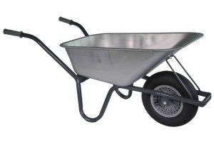 Tuin kruiwagen Basic met verzinkte bak 85 liter