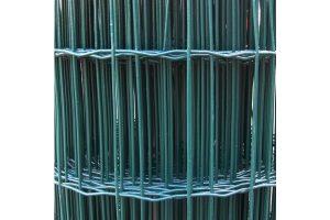 Tuingaas groen geplastificeerd
