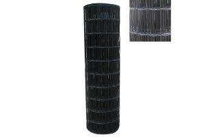 Tuingaas zwart geplastificeerd