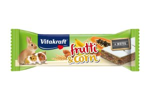 Vitakraft Frutti & Corn fruitreep met noten