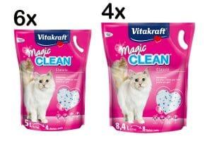 Vitakraft Magic Clean Classic kattenbakvulling doos-voordeel