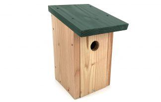 Vogelhuisje Douglas plat dak