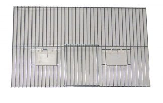 Voorfront met deur en klepjes 30 x 50 cm