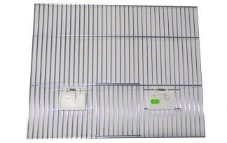 Voorfront met deur en klepjes 40 x 50 cm