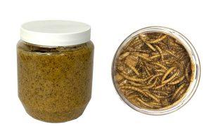 Vogelpindakaas Deluxe - Meelwormen 330 ml