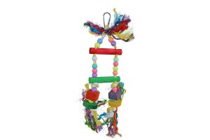 Vogelspeelgoed touwladder