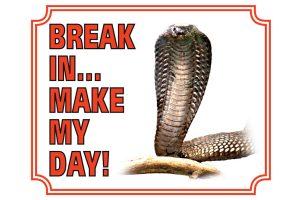 Waakbord cobra