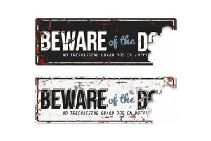D&D Warning Beware of the dog